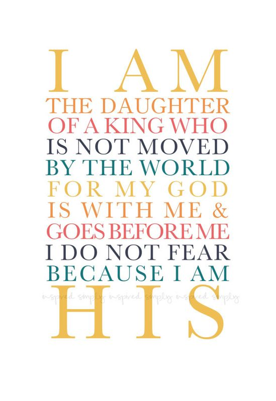 I AM HIS  ::: #quotes