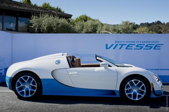 2012 Bugatti Veyron 16.4 Grand Sport Vitesse Special Edition