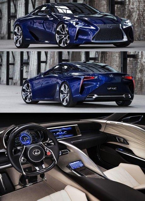 Lexus LF-LC      Advanced Technology
