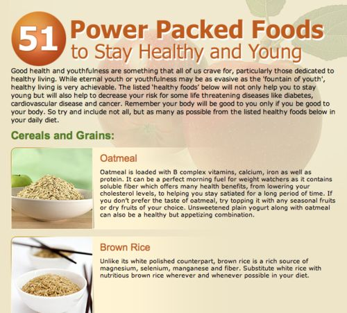 Power Packed Foods to Stay Healthy and Young (1)