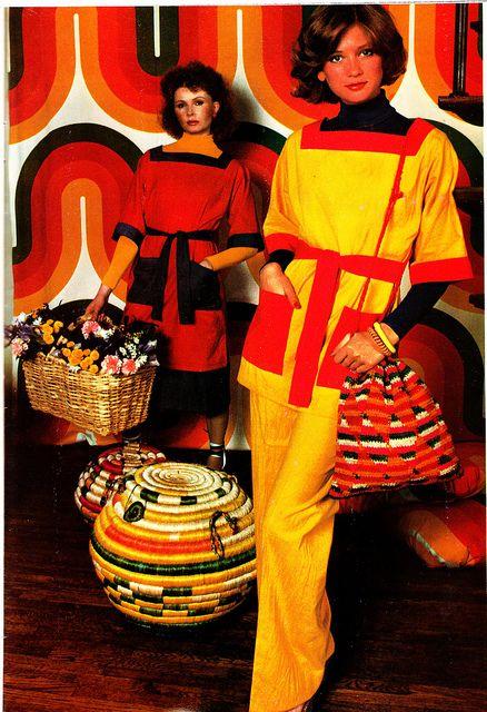 1970s spring fashion