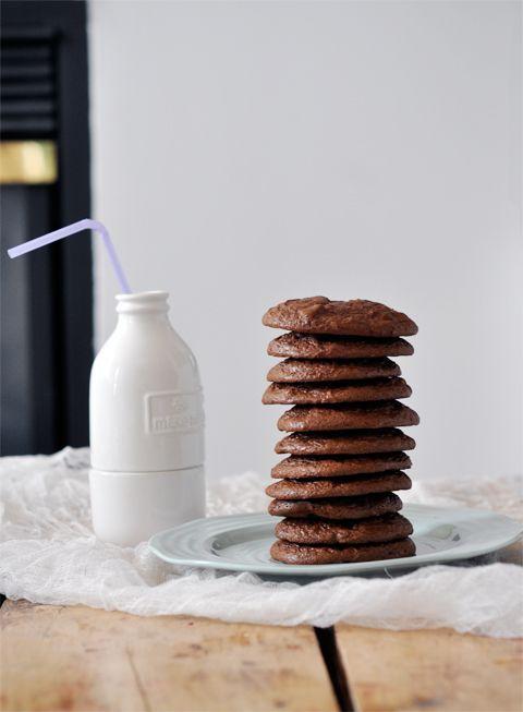 Flourless Chocolate Cookies via Lark