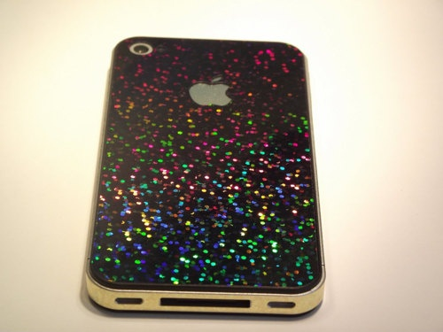 sparkly iPhone