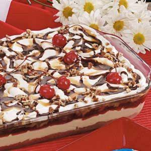 Banana Cheesecake Dessert Recipe