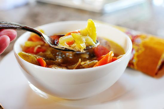Pioneer Woman's Chunky Chicken Soup