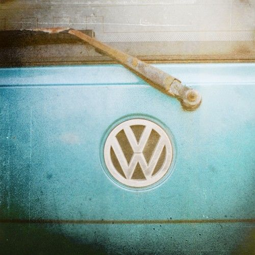I've got the Volkswagon blues Fine Art Vintage Photograph.