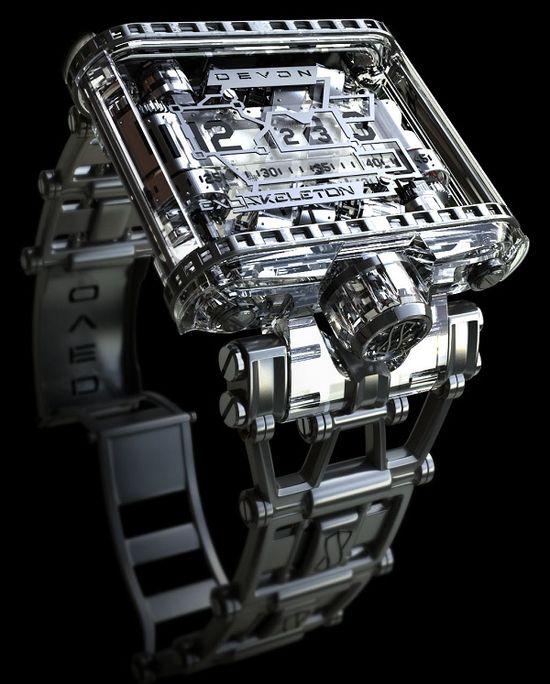 Devon Tread 1 Exoskeleton Watch