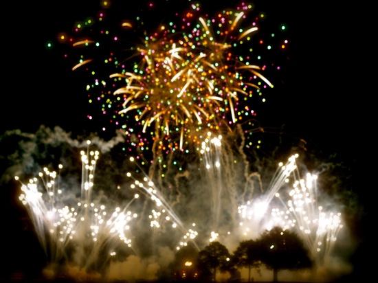 Disney World (epcot) Fireworks  Orlando, Florida