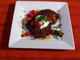 Black Bean Cakes : Recipes : Cooking Channel