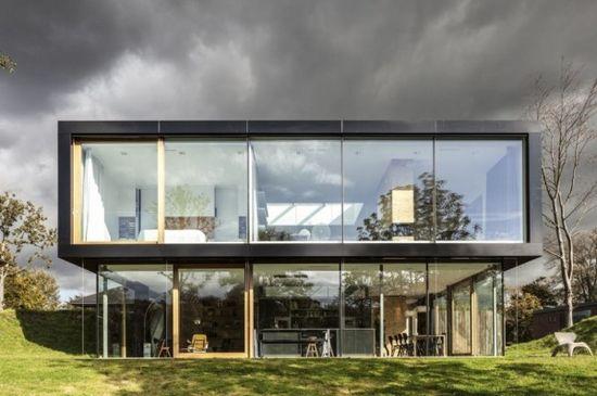 Modern Rural Home Exterior