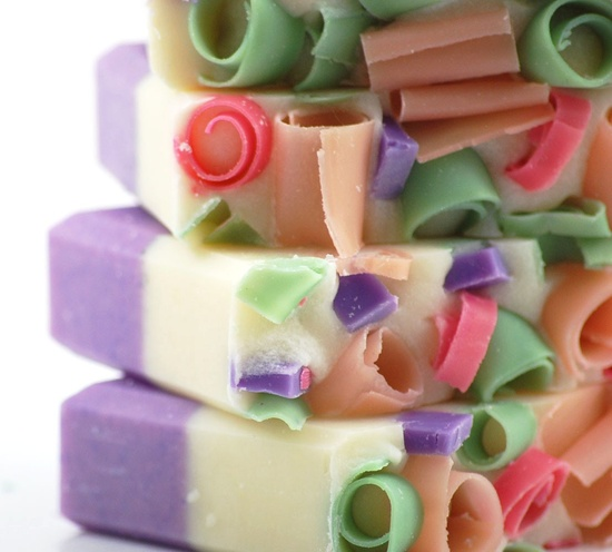 Spring Garden Lilac and Rose Vegan Soap $5.75