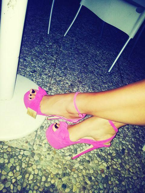 #fashion #shoes Boudoir: Strawberry shoes