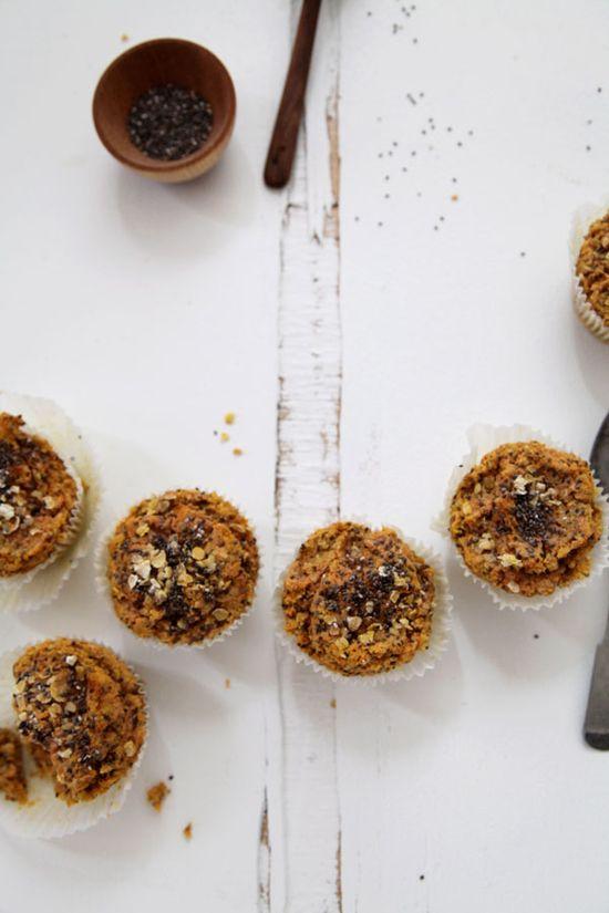 ... carrot mandarin chia seed muffins ...