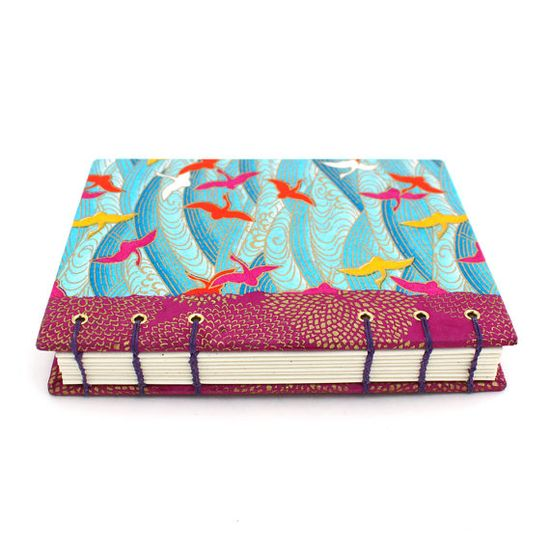 colorful handmade journal