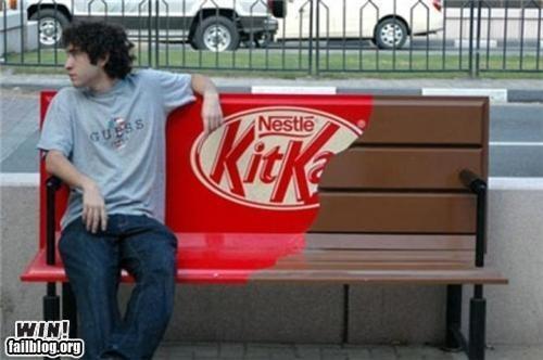 kit kat bench