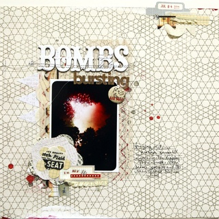 by Ursula from Studio Calico #scrapbook
