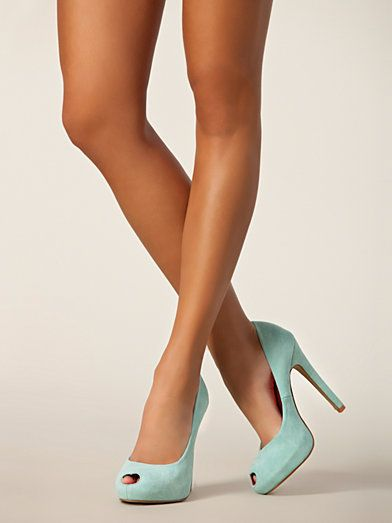 Hearty - China Girl - Light Blue - Party Shoes - Shoes - Women - Nelly.com