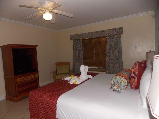 Bedroom at Bay Gardens Beach resort