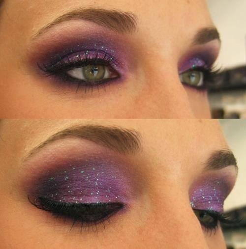 purple with little bit of sparkle
