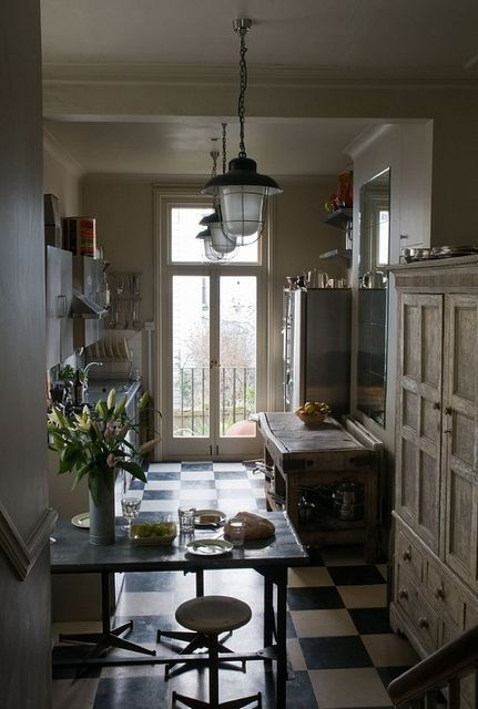 Alex MacArthur {eclectic rustic vintage industrial kitchen} by recent settlers, via Flickr