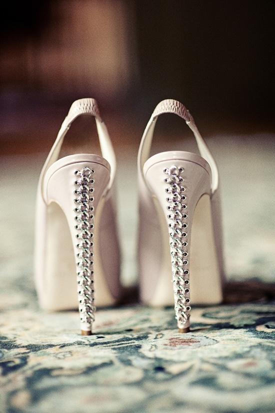 Corset shoes.