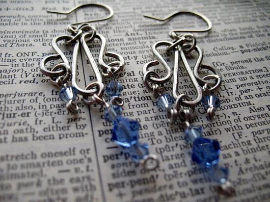 #Chicago #handmade earrings