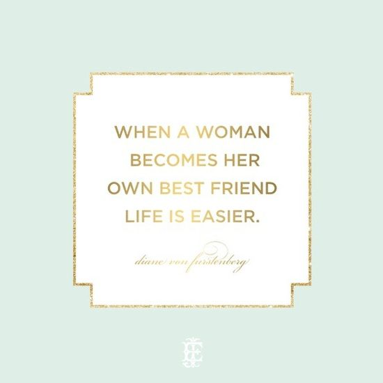 your own best friend