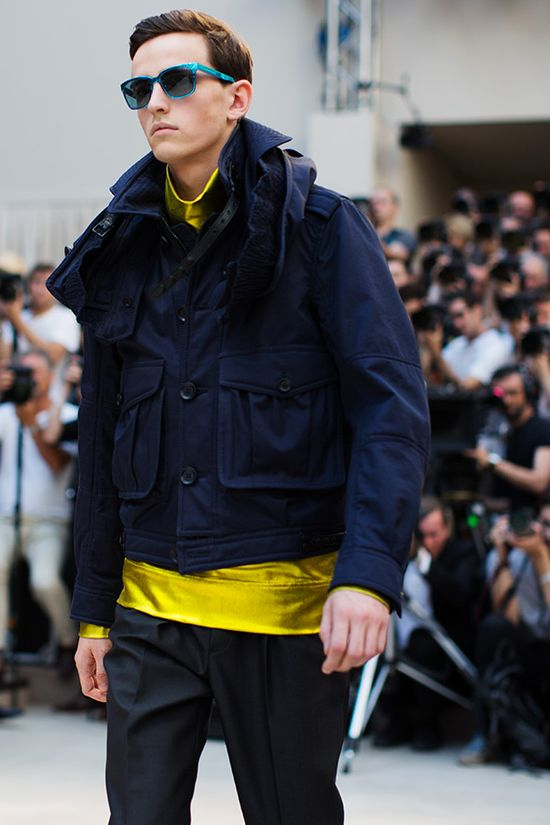 Burberry – Men's Spring/Summer 2013 - fashion world and fashion show