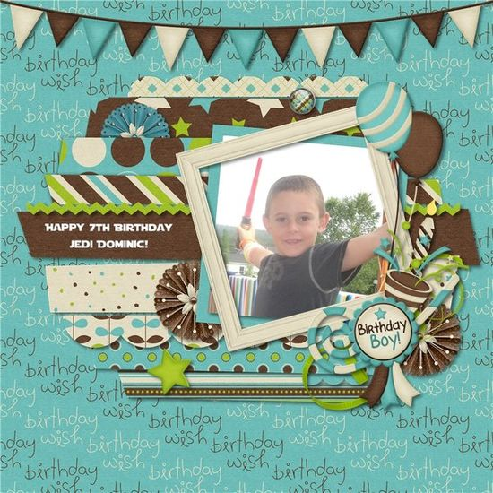 Birthday Day by Jiovanna's Creations - Scrapbook.com