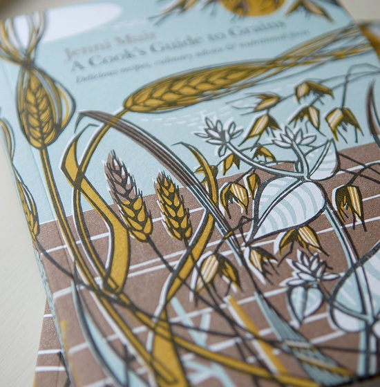 A Cooks Guide To Grains - Angie Lewin - printmaker - painter - designer