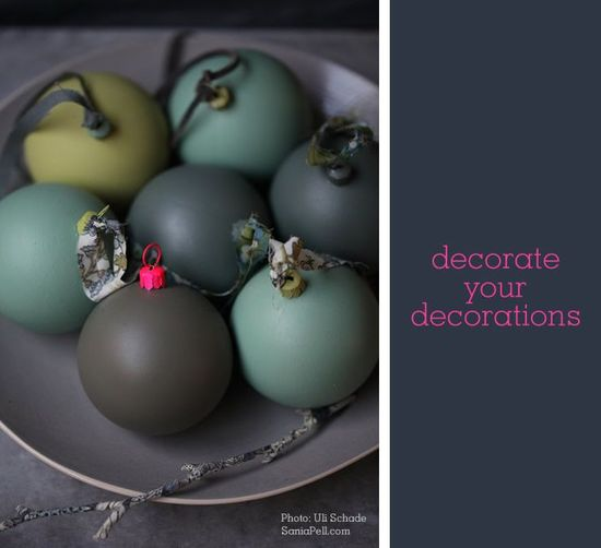 sania pell christmas baubles - ideasforho.me/... -  #home decor #design #home decor ideas #living room #bedroom #kitchen #bathroom #interior ideas