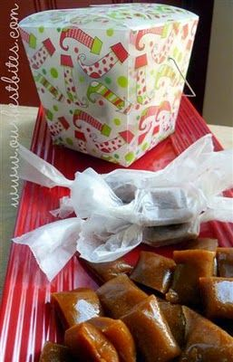 Definitely have to try these apple cider caramels!