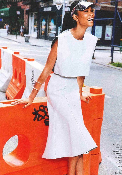 Chanel Iman, Elle Australia, Ben Watts, Black Fashion Models