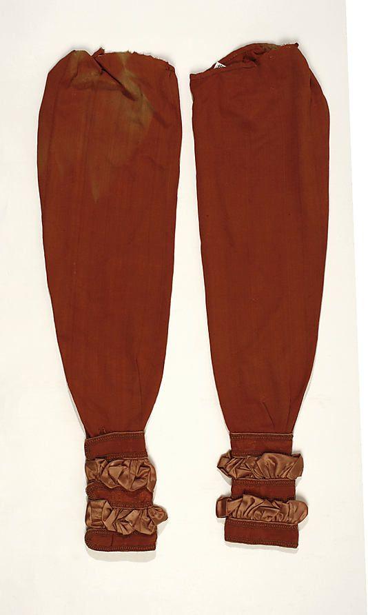 Metropolitan Museum of Art, item C.I.57.58a–d, c1818 silk dress, american