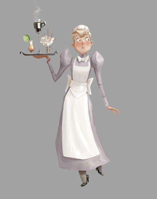 Maid Character #maid #character