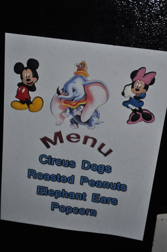 Different Disney Movie Nights with Menu's for each one. SO cute!