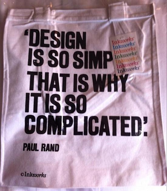 Simple = complicated bag via @Lora Baldracchi