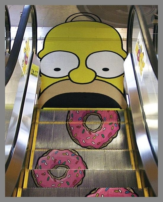 Funny Simpson's #funny commercial ads #funny ads #interesting ads #commercial ads