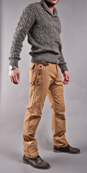 Sweater & pants.