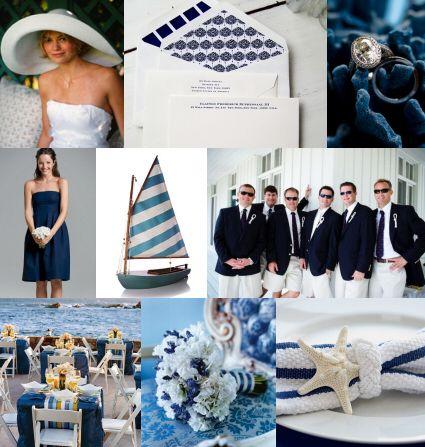 nautical theme wedding