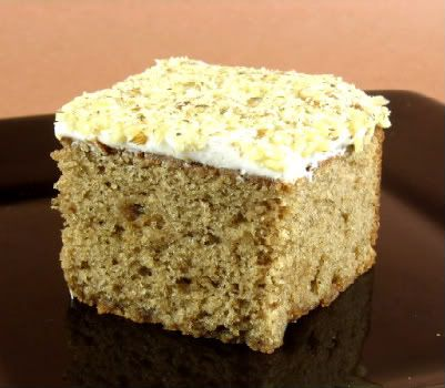 Buttermilk Spice Cake with Cream Cheese Frosting