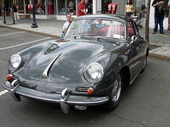 Green Porsche 356