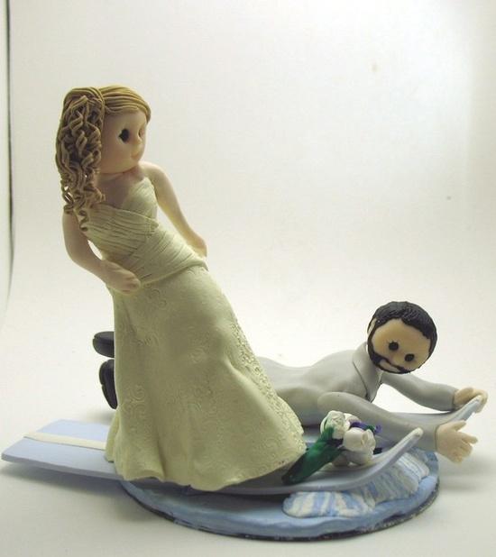 Custom wedding cake topper deposit