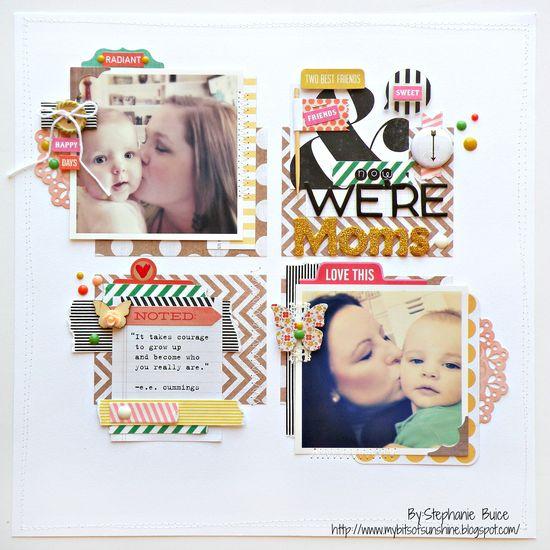 #scrapbooking #layout #mother #scrapbook