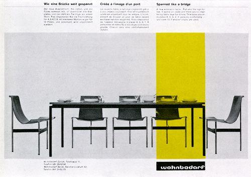 History Swiss Graphic Design, Wohnbedarf