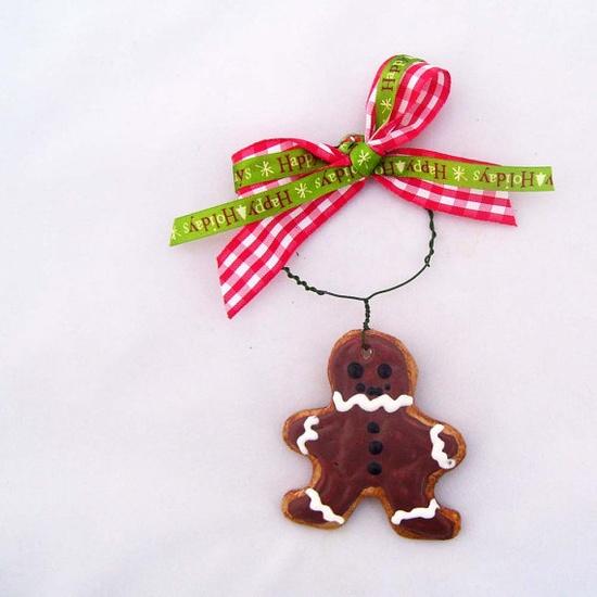 Super cute handmade Christmas ornaments!