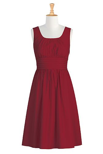 eShakti Michelle dress - ordered this with short sleeves - mid-calf length  - custom sized. We'll see how it fits!