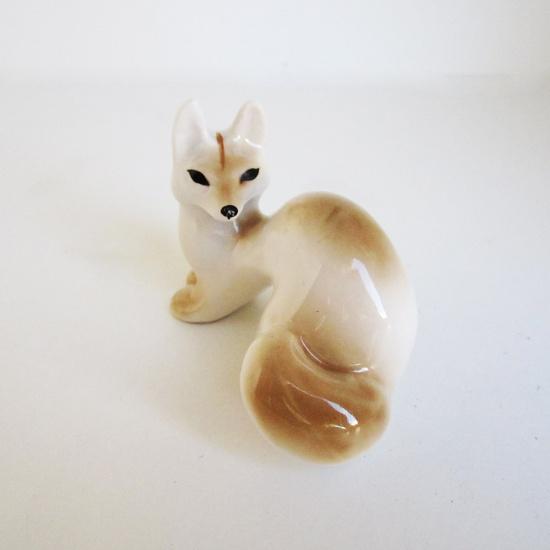 Vintage Fox Figurine.