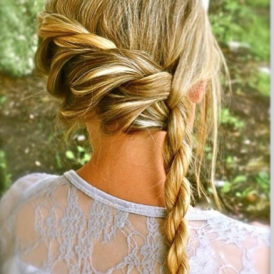 New Side Dutch Braid To The Back Into Classic Curls  YouTube