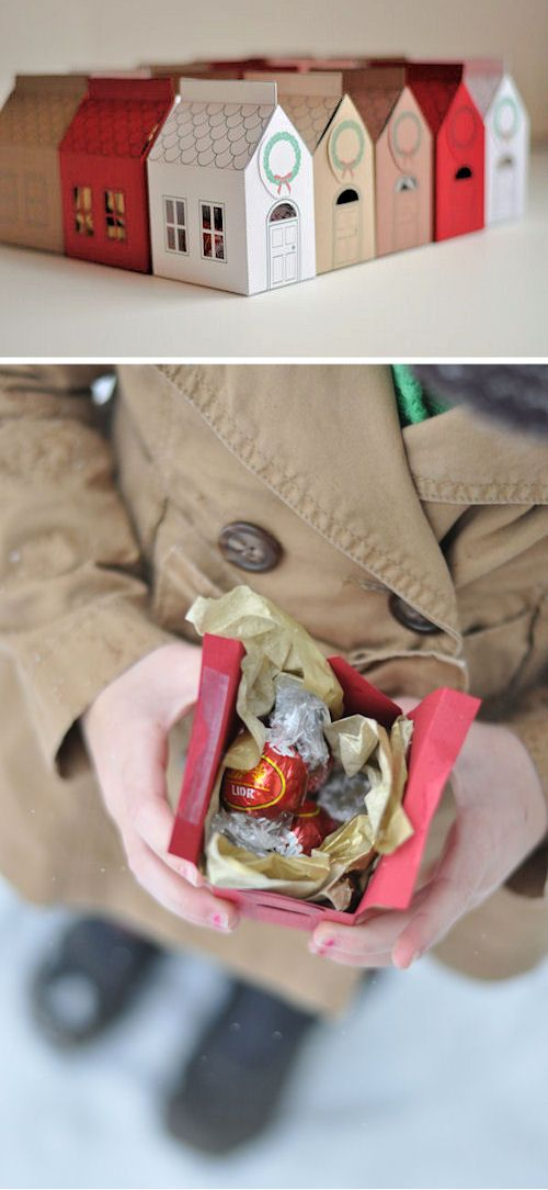 Gift Idea: House Gift Box. Free Printable!